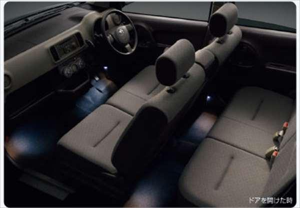『ブーン』 純正 M600S フロアイルミネーション(2モードタイプ) パーツ ダイハツ純正部品 照明 ライト フットライト boon オプション アクセサリー 用品