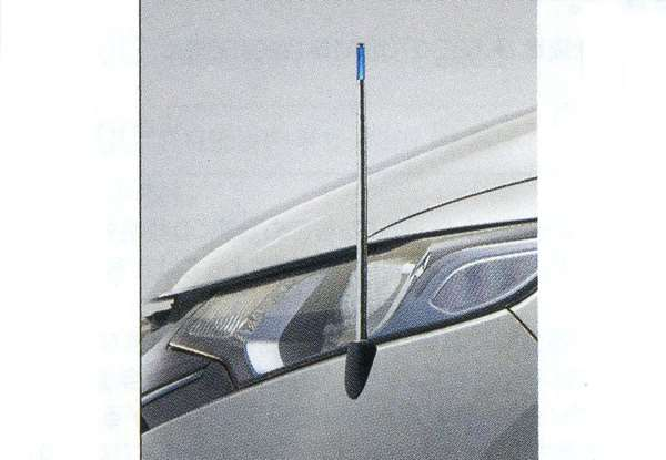 『フィット』 純正 GP5 コーナーポール(リモコン式) パーツ ホンダ純正部品 フェンダーポール フェンダーライト 障害物 FIT オプション アクセサリー 用品