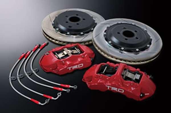 TRD モノブロックブレーキキット [ MS220-18001] 86 ZN6 適合 全車(但し18インチ鍛造ホイール「SF2」の装着必須 (必要個数 1個)