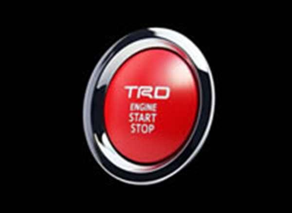 TRD プッシュスタートスイッチ [ MS422-00003] 86 ZN6 適合 GT-Limited GT専用 (必要個数 1個)