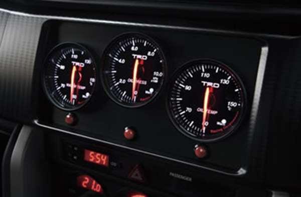 TRD スポーツメーターキット(2DINサイズ 水温メーター [ MS414-00001] 86 ZN6 適合 全車 (必要個数 1個)