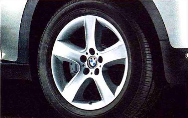 X5 パーツ スタースポーク・スタイリング212のホイール単体 9J×19(フロント/リヤ) BMW純正部品 KS30S KS30 KR44S KR44 オプション アクセサリー 用品 純正 送料無料