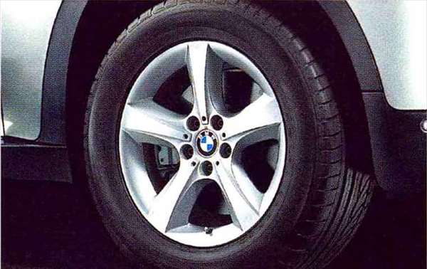 X5 パーツ スタースポーク・スタイリング210のホイール単体 8.5J×18(フロント/リヤ) BMW純正部品 KS30S KS30 KR44S KR44 オプション アクセサリー 用品 純正 送料無料