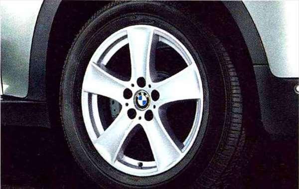 X5 パーツ スタースポーク・スタイリング209のホイール単体 8.5J×18(フロント/リヤ) BMW純正部品 KS30S KS30 KR44S KR44 オプション アクセサリー 用品 純正 送料無料
