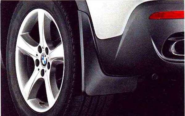 X5 パーツ マッド・フラップ・セット X5 M用リヤ・セット BMW純正部品 KS30S KS30 KR44S KR44 オプション アクセサリー 用品 純正