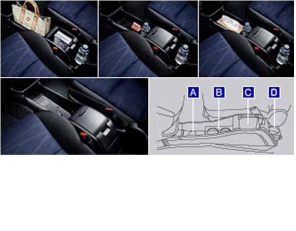 ウィッシュ 純正 ZGE20 ストアー ZGE25 新品未使用正規品 コンソールボックス パーツ オプション 用品 wish トヨタ純正部品 アクセサリー
