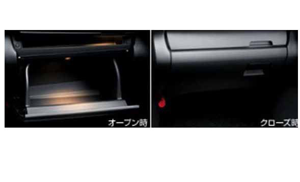 『ウィッシュ』 純正 ZGE20 ZGE25 インパネボックスリッド イルミ付 パーツ トヨタ純正部品 収納 小物入れ wish オプション アクセサリー 用品