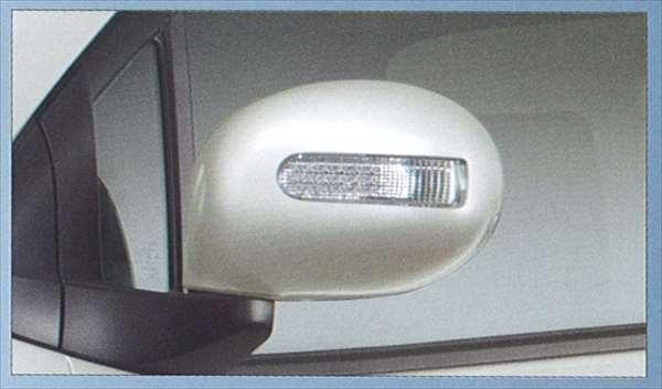 『セルボ』 純正 HG21 ドアミラーカバー(ターンランプ付) パーツ スズキ純正部品 サイドミラーカバー カスタム cervo オプション アクセサリー 用品