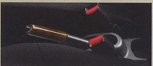 『セルボ』 純正 HG21 パーキングブレーキカバー パーツ スズキ純正部品 ウッド 木目 cervo オプション アクセサリー 用品