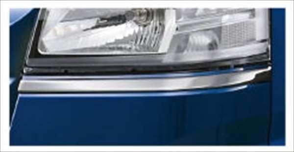 『ハイゼットトラック』 純正 S500P メッキヘッドランプガーニッシュ パーツ ダイハツ純正部品 ヘッドライトパネル ドレスアップ カスタム hijettruck オプション アクセサリー 用品