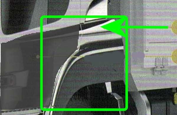 『クオン』 純正 GK5AAB メッキフェンダーカバー パーツ 日産ディーゼル純正部品 オプション アクセサリー 用品