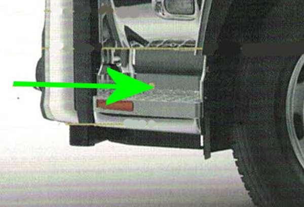 『クオン』 純正 GK5AAB メッキステップミドルカバー ダンプミキサー左右セット パーツ 日産ディーゼル純正部品 オプション アクセサリー 用品