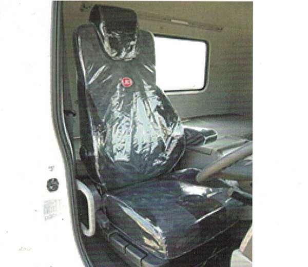 『クオン』 純正 GK5AAB ビニールシートカバー 1台分 パーツ 日産ディーゼル純正部品 座席カバー 汚れ シート保護 オプション アクセサリー 用品