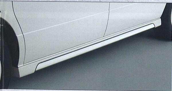 『エルグランド』 純正 E51 サイドシルプロテクター(ステンレスプレート埋込タイプ) パーツ 日産純正部品 サイドスポイラー エアロパーツ カスタム ELGRAND オプション アクセサリー 用品