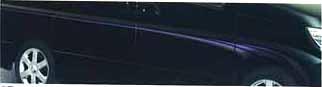 『エルグランド』 純正 E51 アクセントストライプ(デザインタイプ) パーツ 日産純正部品 ELGRAND オプション アクセサリー 用品