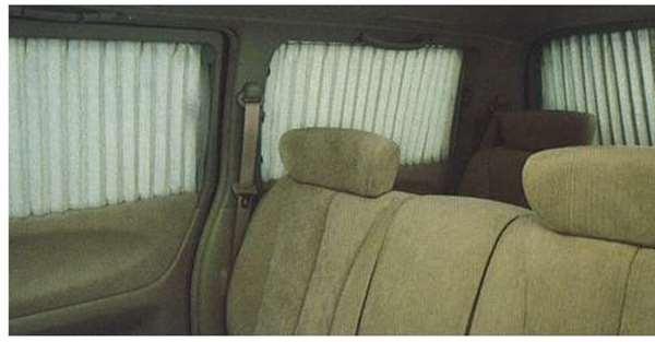 『エルグランド』 純正 E51 手動カーテン(抗菌防臭加工) MET20 パーツ 日産純正部品 ELGRAND オプション アクセサリー 用品
