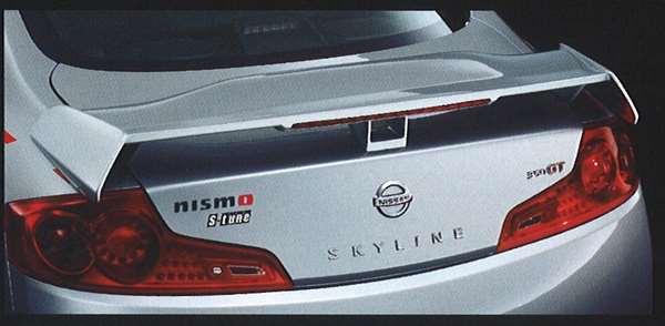 『スカイラインクーペ』 純正 v35 リアウイング パーツ 日産純正部品 SKYLINE オプション アクセサリー 用品