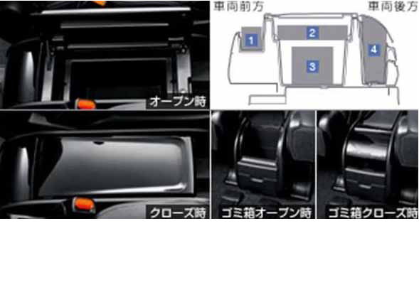 『エスクァイア』 純正 ZWR80G コンソールボックス パーツ トヨタ純正部品 esquire オプション アクセサリー 用品