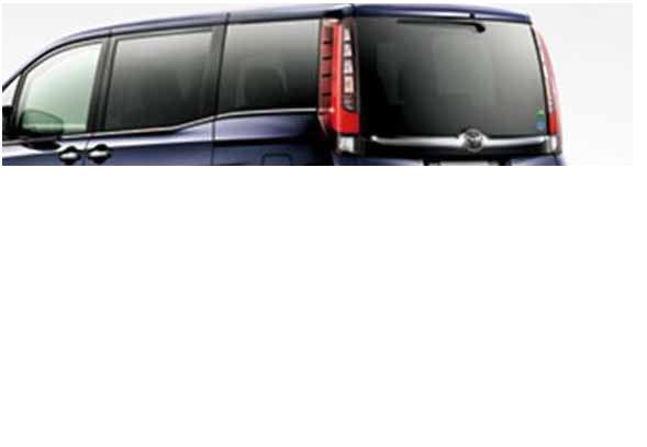 『エスクァイア』 純正 ZWR80G IR(赤外線)カットフィルム リヤサイド・バックガラス パーツ トヨタ純正部品 日除け カーフィルム esquire オプション アクセサリー 用品