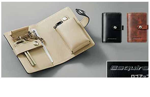 『エスクァイア』 純正 ZWR80G 本革キーケース パーツ トヨタ純正部品 esquire オプション アクセサリー 用品