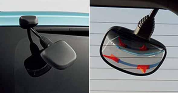 『エスクァイア』 純正 ZWR80G リヤアンダーミラー パーツ トヨタ純正部品 esquire オプション アクセサリー 用品