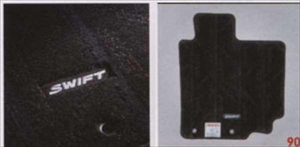 『スイフト』 純正 ZC72S ZD72S フロアマット・ジュータン(ネオストライプ) パーツ スズキ純正部品 フロアカーペット カーマット カーペットマット swift オプション アクセサリー 用品