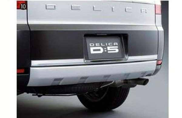 『デリカD:5』 純正 CV2W テールゲートプロテクター パーツ 三菱純正部品 荷台モール アオリ DELICA オプション アクセサリー 用品