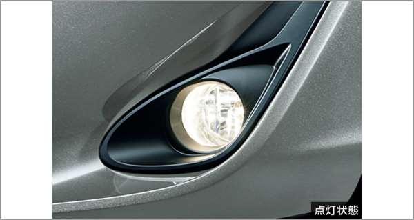 『アクア』 純正 NHP10H NHP10 フォグランプ(ハロゲン) 本体Aのみ ※スイッチAは別売 パーツ トヨタ純正部品 フォグライト 補助灯 霧灯 オプション アクセサリー 用品
