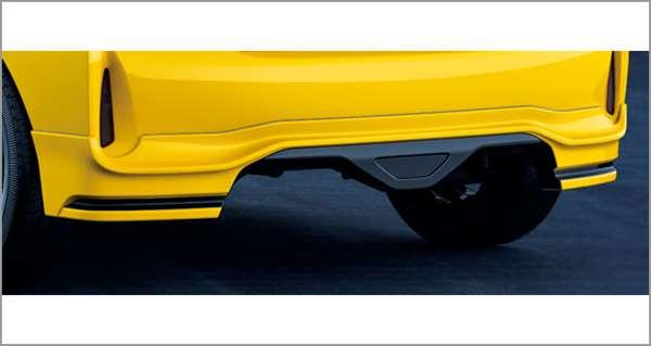 『アクア』 純正 NHP10H NHP10 リヤバンパースポイラー パーツ トヨタ純正部品 オプション アクセサリー 用品