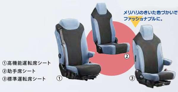 『プロフィア』 純正 FR1EZYJ FN1EYYG FN1EWXA FW1EXYJ ブルー&ブラック シートカバー PVCシート セット パーツ ヒノ純正部品 座席カバー 汚れ シート保護 オプション アクセサリー 用品