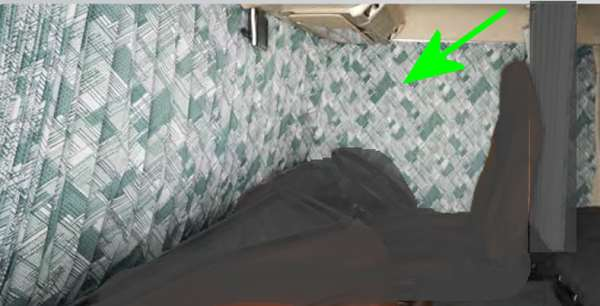 『プロフィア』 純正 FR1EZYJ FN1EYYG FN1EWXA FW1EXYJ 遮光プリーツカーテン(プリント柄)ラウンドのみ ※センター・リヤ別売 パーツ ヒノ純正部品 オプション アクセサリー 用品