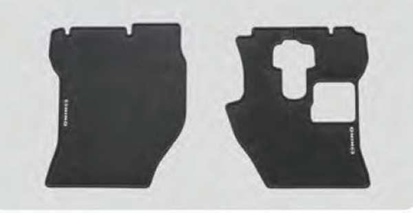 『プロフィア』 純正 FR1EZYJ FN1EYYG FN1EWXA FW1EXYJ フロアラバーマット フロント1台分セット(黒) パーツ ヒノ純正部品 ゴムマット フロアマット オプション アクセサリー 用品
