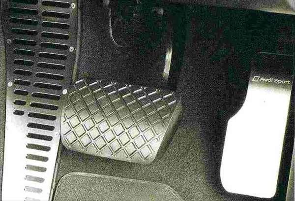 Q5 パーツ アクセルペダルカバー(右ハンドル車用) アウディ純正部品 8RCNCF 8RCTVF オプション アクセサリー 用品 純正 ステアリング