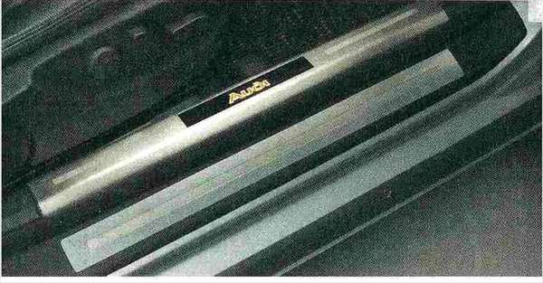 Q5 パーツ イルミネーションドアシルプレート アウディ純正部品 8RCNCF 8RCTVF オプション アクセサリー 用品 純正 送料無料