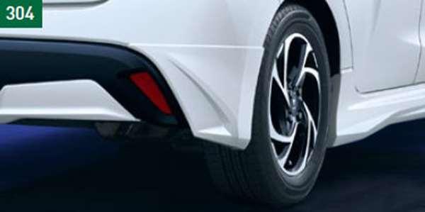 『ヤリス』 純正 MXPH10 MXPA10 KSP210 MXPA10 リヤスパッツ (MODELLISTA) ※塗装済み ※車両情報確認が必要です パーツ トヨタ純正部品 オプション アクセサリー 用品