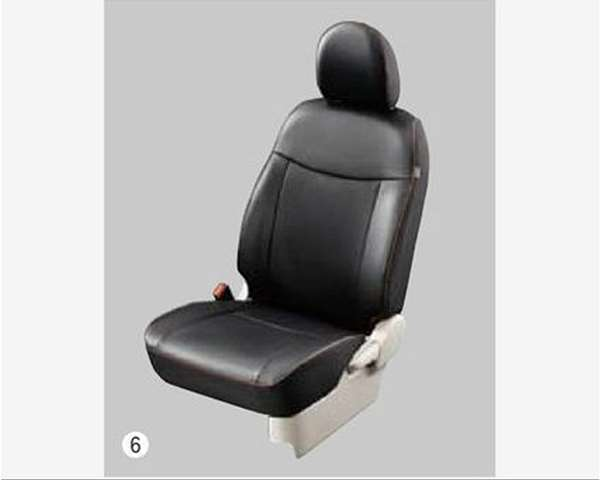 『ekスペース』 純正 B11A 本革調シートカバー パーツ 三菱純正部品 座席カバー 汚れ シート保護 オプション アクセサリー 用品