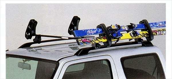 『ジムニー』 純正 JB23 スキーアタッチメント サイド積み パーツ スズキ純正部品 jimny オプション アクセサリー 用品
