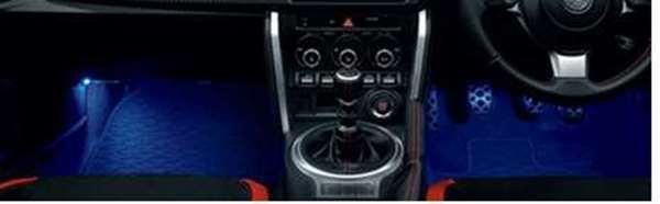 『86』 純正 E2L7 E2L8 E2E7 E2E8 E2B7 E2B8 フットランプ パーツ トヨタ純正部品 オプション アクセサリー 用品