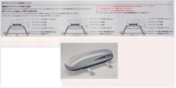 『レガシィ』 純正 BR9 BM9 BRF ルーフボックス(スーリー)本体 パーツ スバル純正部品 legacy オプション アクセサリー 用品