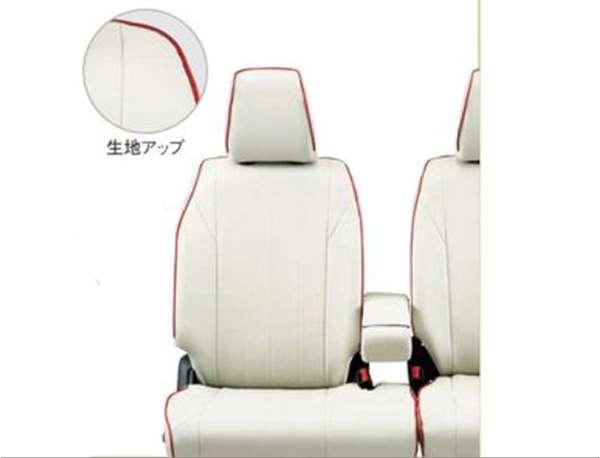 『スペーシア』 純正 MK53S 革調シートカバー アイボリー パーツ スズキ純正部品 座席カバー 汚れ シート保護 オプション アクセサリー 用品