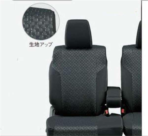 『スペーシア』 純正 MK53S シートカバー ブラック パーツ スズキ純正部品 座席カバー 汚れ シート保護 オプション アクセサリー 用品