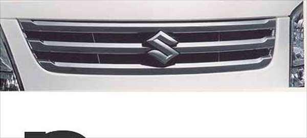 『ワゴンR』 純正 MH23S フロントグリル パーツ スズキ純正部品 メッキ 飾り カスタム エアロ wagonr オプション アクセサリー 用品