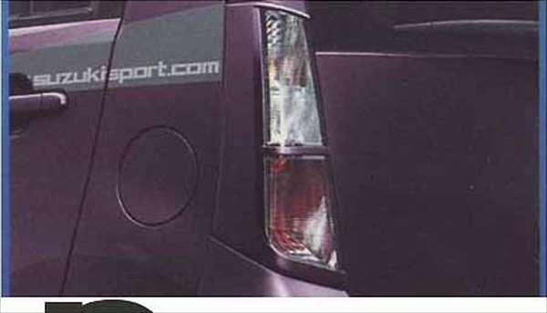 『ワゴンR』 純正 MH23S リヤランプガーニッシュ パーツ スズキ純正部品 リアガーニッシュ パネル カスタム wagonr オプション アクセサリー 用品