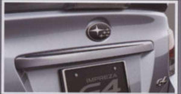 『インプレッサ』 純正 GP2 GP3 GP6 GP7 GJ2 トランクガーニッシュ(メッキ) パーツ スバル純正部品 impreza オプション アクセサリー 用品