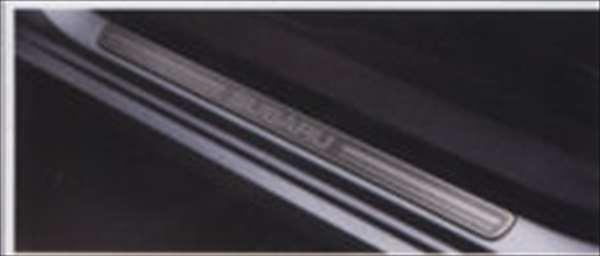 『インプレッサ』 純正 GP2 GP3 GP6 GP7 GJ2 サイドシルプレート フロント2枚セット パーツ スバル純正部品 ステップ 保護 プレート impreza オプション アクセサリー 用品
