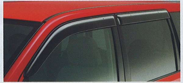 オッティ 純正 H92W プラスチックバイザー アクリル製 リモコンオートスライドドア車用 フロントのみ パーツ オプション 日産純正部品 用品 アクセサリー OTTI ※アウトレット品 サイドバイザー 18%OFF ドアバイザー