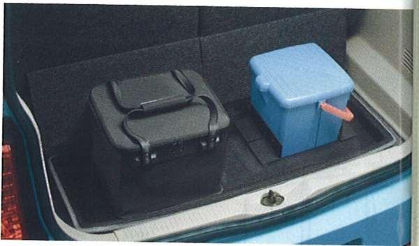 『オッティ』 純正 H92W ラゲッジシステム『トレイセット』(ラゲッジトレイト+パーティション(2個)+防水バッグ) パーツ 日産純正部品 荷室 トレー ラゲージ OTTI オプション アクセサリー 用品
