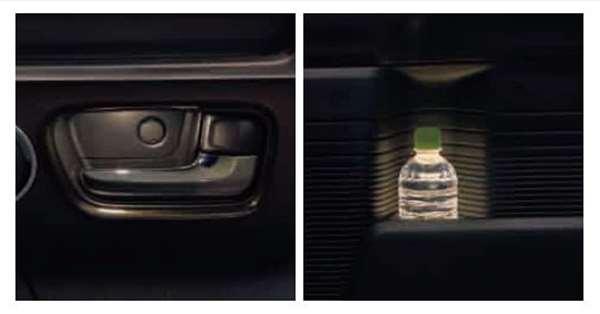 『N-BOX』 純正 JF3 JF4 インナーハンドル&ドアポケットイルミネーション ※ベンチシート装着車用 パーツ ホンダ純正部品 オプション アクセサリー 用品