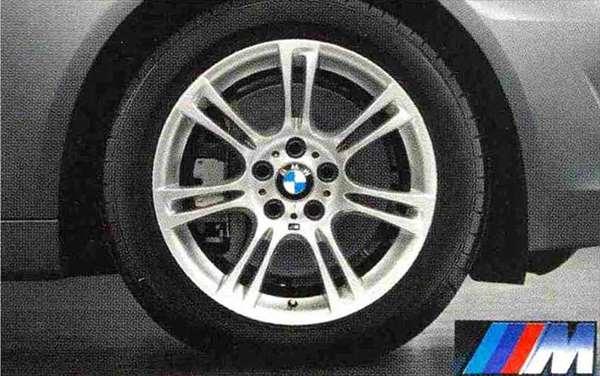 5 パーツ Mライト・アロイ・ホイール・ダブルスポークスタイリング350M ホイール単体8.5J×19(セダン用フロント、ツーリング用フロント/リヤ) BMW純正部品 アクセサリー 用品 純正 送料無料
