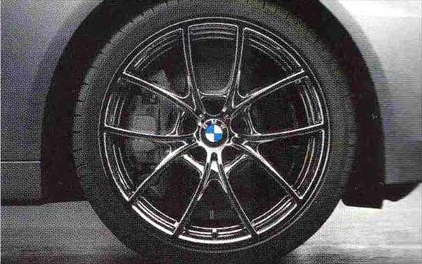 5 パーツ Vスポーク・スタイリング356(リキッド・ブラック) ホイール単体8.5J×20(フロント) BMW純正部品 XG20 FW20 XG28 FR35 KN44 XL20 MX20 XL28 MU35 HR44 オプション アクセサリー 用品 純正 送料無料
